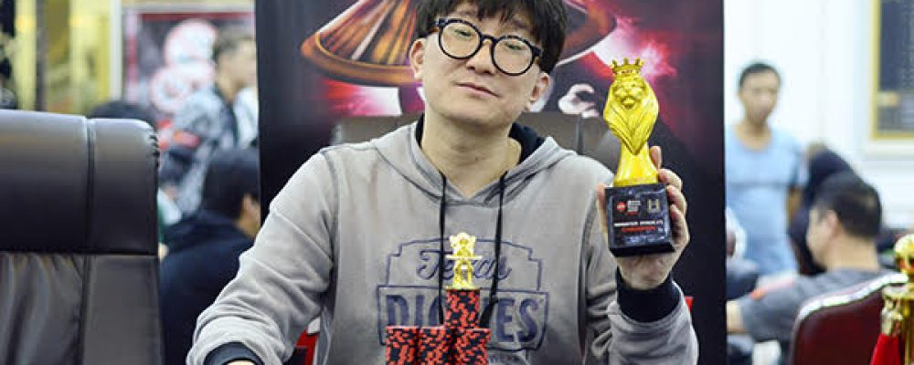 A commanding victory for Eunho Kwon at the Monster Stack #1