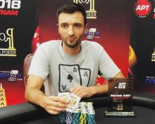 Aivaras Bardaukas wins the Welcome Event; 167 entrants for the Warm Up
