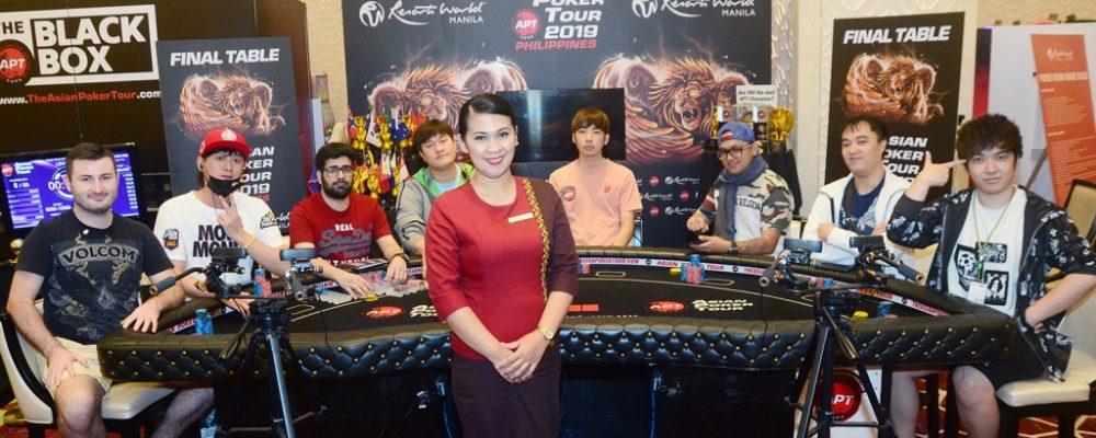 Side event winners: Chi Chung Ho, Masato Yokosawa, and Kota Nakano